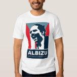 Pedro Albizu Campos - camiseta blanca Playeras