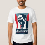 Pedro Albizu Campos - camiseta blanca Remeras