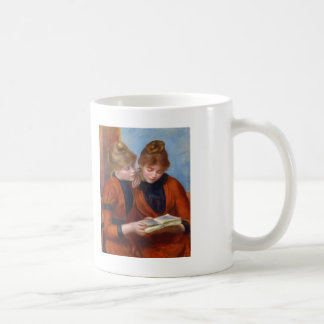 Pedro-Auguste Renoir- dos hermanas Tazas De Café