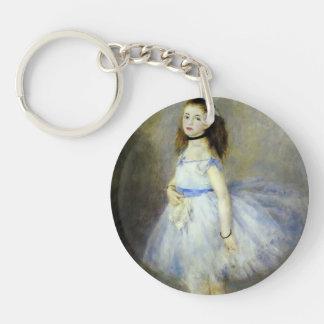 Pedro-Auguste Renoir- el bailarín Llavero Redondo Acrílico A Una Cara