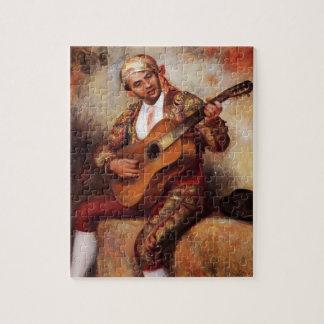Pedro-Auguste Renoir- el guitarrista español Puzzles Con Fotos