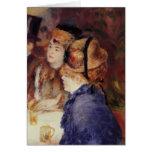 Pedro-Auguste Renoir- en el café Tarjetón
