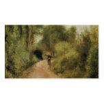 Pedro-Auguste Renoir- en la trayectoria Tarjetas De Visita