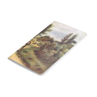 Pedro-Auguste Renoir- en las orillas del río Cuadernos