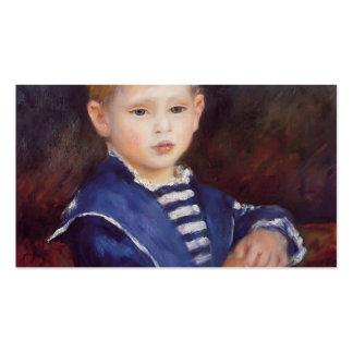 Pedro-Auguste Renoir- Paul Haviland Tarjetas De Visita