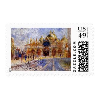 Pedro Auguste Renoir - plaza de San Marco