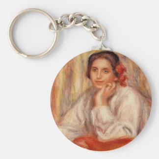 Pedro-Auguste Renoir- Vera Sertine Renoir Llavero Personalizado