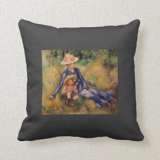 Pedro-Auguste Renoir- Yvonne y Jean Almohada