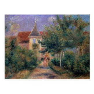Pedro casa de Renoir el | un Renoir en Essoyes Tarjeta Postal