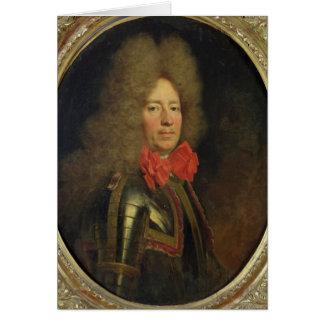 Pedro de Montesquiou Count de Artagnan Tarjeta De Felicitación