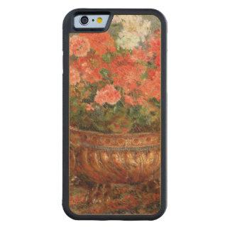 Pedro geranios de Renoir un | en un lavabo de Funda De iPhone 6 Bumper Arce