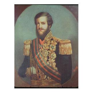 Pedro II  Emperor of Brazil Postcard