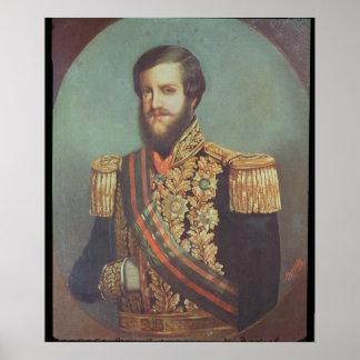 Pedro II  Emperor of Brazil Poster