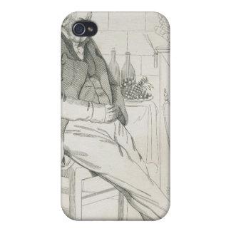 Pedro-Jean de Beranger iPhone 4/4S Carcasas