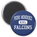 Pedro Menéndez - Falcons - alto - St Augustine Imán Para Frigorifico