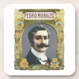 Pedro Morales Vintage Cigar Label Drink Coaster
