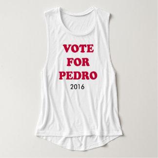 Pedro para el presidente playera de tirantes anchos