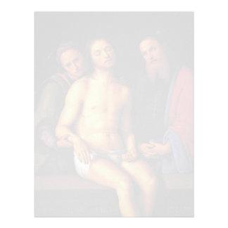 Pedro Perugino- Sepulcrum Christi Plantillas De Membrete