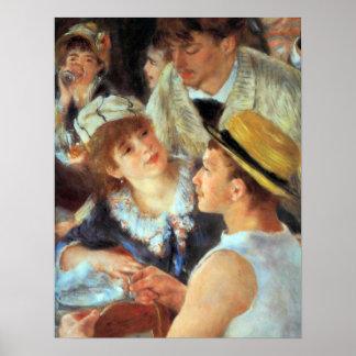 Pedro Renoir - almuerce sobre el detalle del fiest Impresiones