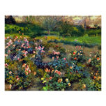 Pedro Renoir - arboleda color de rosa Impresiones
