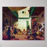 Pedro Renoir - boda judío (después de Delacroix) Poster