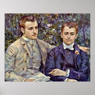 Pedro Renoir - Charles y Jorte Durand Póster