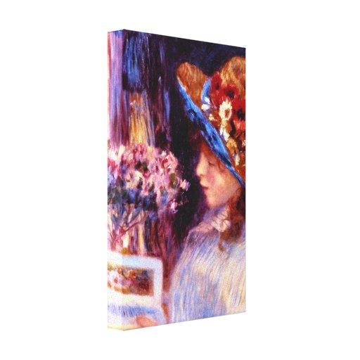 Pedro Renoir - lectura del chica Impresiones De Lienzo
