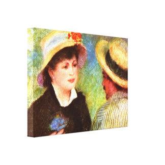 Pedro Renoir - Les Canotiers Impresión En Lona