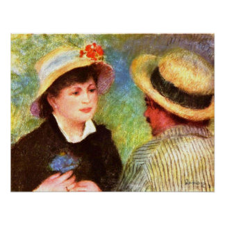 Pedro Renoir - Les Canotiers Poster