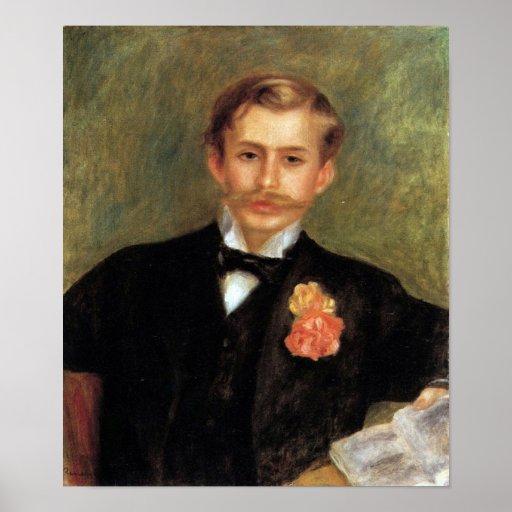 Pedro Renoir - retrato de Monsier Germana Posters