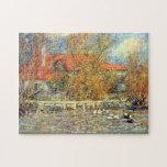 Pedro Renoir - rompecabezas de la charca del pato