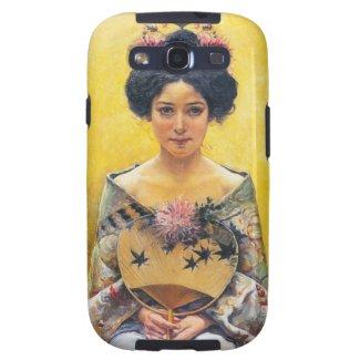 Pedro Sáenz (1864-1924), Disfraz japonesa Galaxy SIII Cases