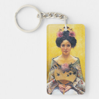 Pedro Sáenz (1864-1924), Disfraz japonesa Keychain
