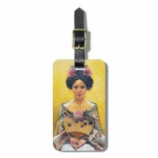 Pedro Sáenz (1864-1924), Disfraz japonesa Tag For Bags