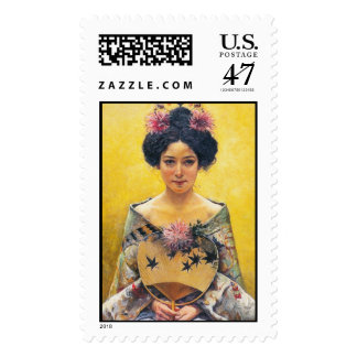 Pedro Sáenz (1864-1924), Disfraz japonesa Postage