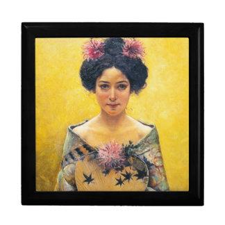 Pedro Sáenz 1864-1924 japonesa de Disfraz Caja De Recuerdo