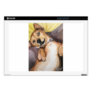 "Pedro the Chiweenie 17"" Laptop Decal"