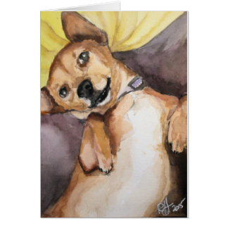 Pedro the Chiweenie Card