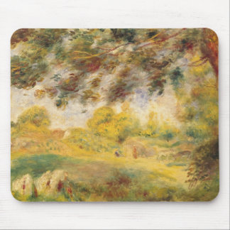 Pedro un paisaje de la primavera de Renoir el | Mousepads