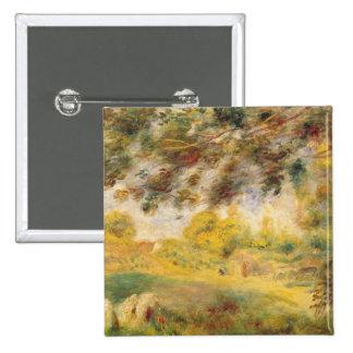 Pedro un paisaje de la primavera de Renoir el | Pin Cuadrado