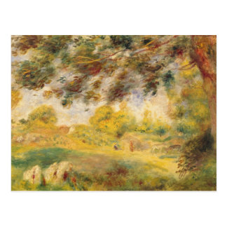 Pedro un paisaje de la primavera de Renoir el | Tarjeta Postal