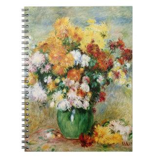 Pedro un ramo de Renoir el | de crisantemos Cuaderno