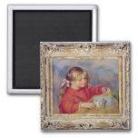 Pedro un Renoir el | Claude Renoir en Play, 1905 Imán Cuadrado