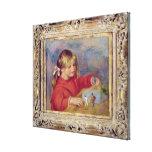 Pedro un Renoir el | Claude Renoir en Play, 1905 Lona Estirada Galerías