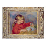 Pedro un Renoir el | Claude Renoir en Play, 1905 Tarjeta Postal
