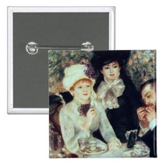 Pedro un Renoir el | el extremo del alumerzo Pin Cuadrado