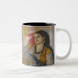 Pedro un Renoir el | Olympia Taza De Café De Dos Colores