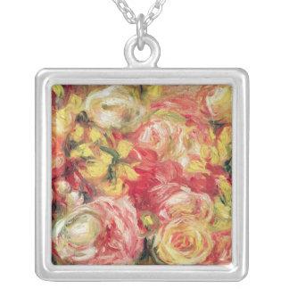 Pedro un Renoir el | Roses, 1915 Colgante Cuadrado