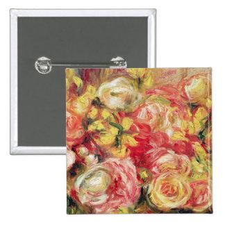 Pedro un Renoir el | Roses, 1915 Pin Cuadrado