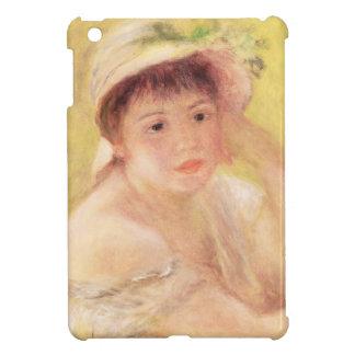 Pedro una mujer de Renoir el | en un gorra de